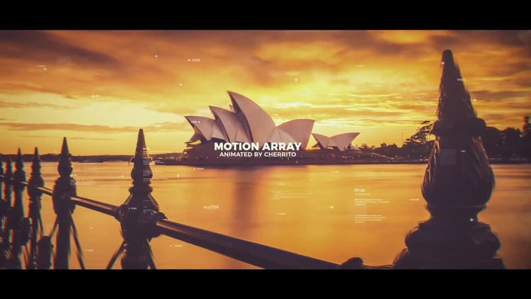 HUD Parallax Slideshow: After Effects Templates