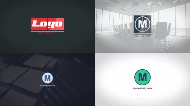 Corporate Logo Pack: Premiere Pro Templates