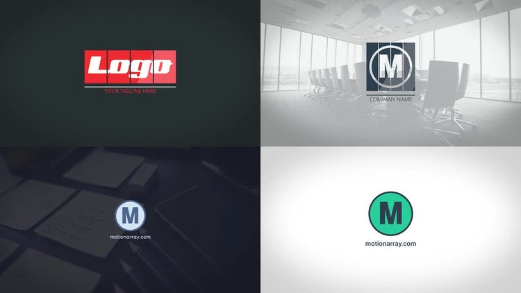 Corporate Logo Pack: Premiere Pro Templates