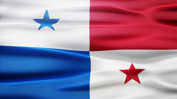 Panama Flag: Stock Motion Graphics