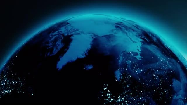 Night Earth: Stock Motion Graphics