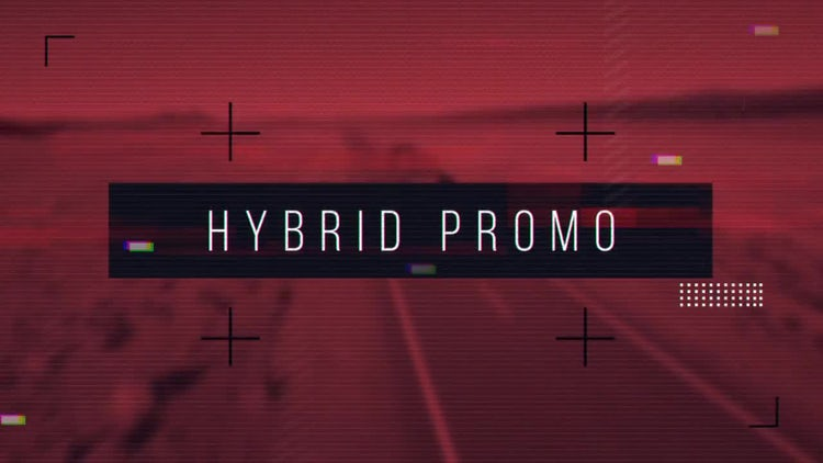 Hybrid Promo: After Effects Templates