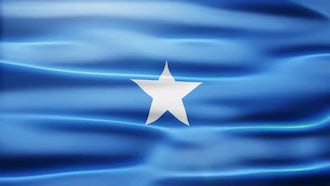 Somalia Flag: Motion Graphics
