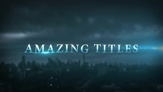 Epic Cinematic Trailer Titles: After Effects Templates