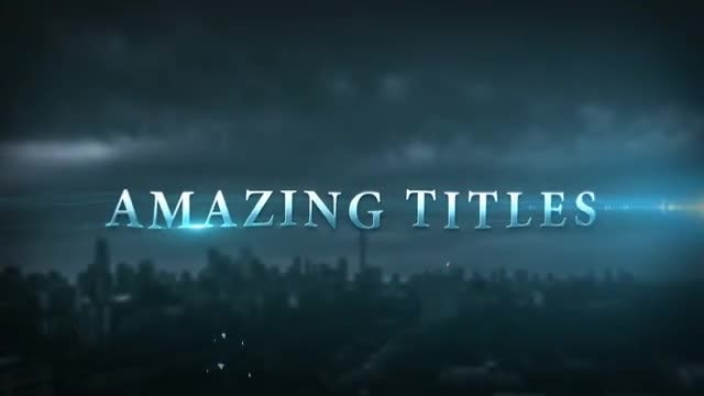 Epic Cinematic Trailer Les After Effects Templates