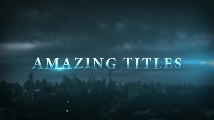 epic cinematic trailer titles after effects templates motion array. Black Bedroom Furniture Sets. Home Design Ideas