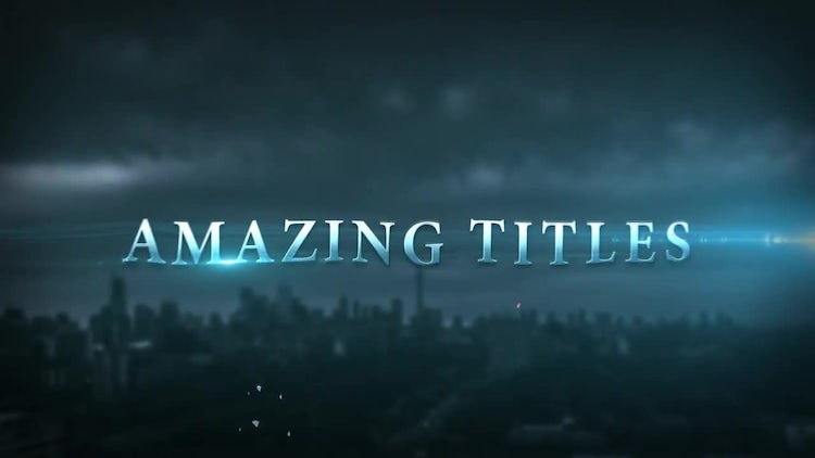 epic cinematic trailer titles after effects templates. Black Bedroom Furniture Sets. Home Design Ideas