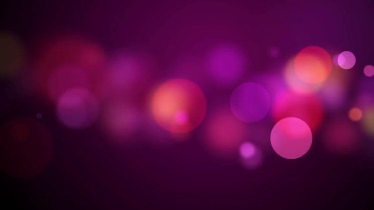 Floating Pink Particles: Motion Graphics