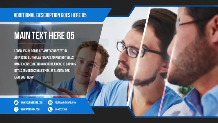 Corporate Promo Slideshow: After Effects Templates