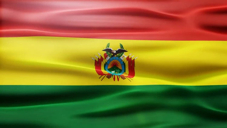 Bolivia Flag: Motion Graphics