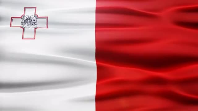 Malta Flag: Stock Motion Graphics