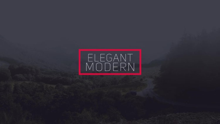Elegant Modern Titles: Premiere Pro Templates