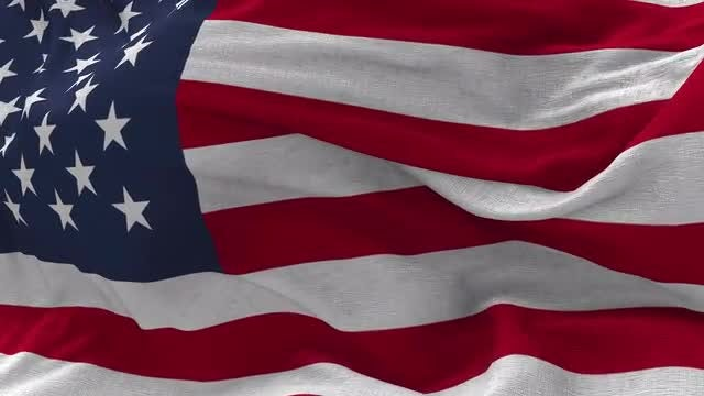 USA Flag Animation: Stock Motion Graphics