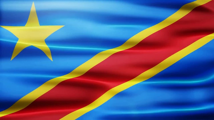 Congo Flag: Motion Graphics