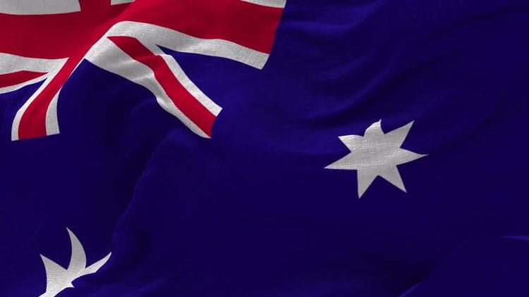 Australian Flag Animation: Motion Graphics