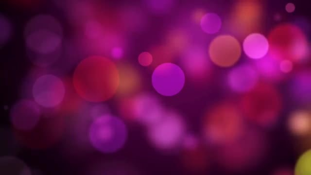 Pink Particles: Stock Motion Graphics
