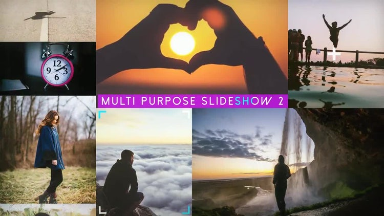 Multipurpose Slideshow V2: After Effects Templates