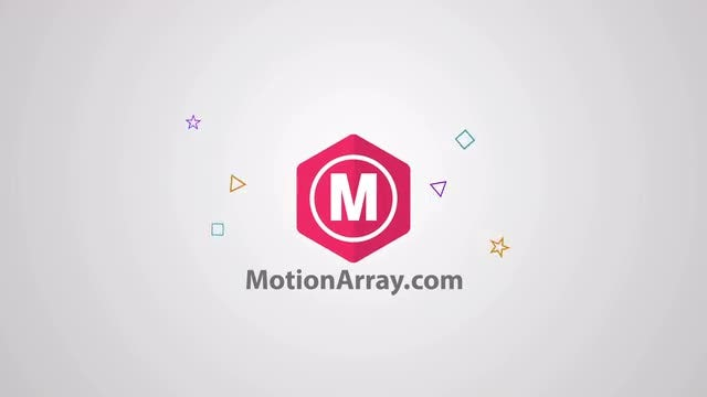 Funny shape logo: After Effects Templates