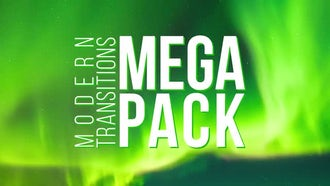 Modern Transitions Mega Pack: Premiere Pro Templates