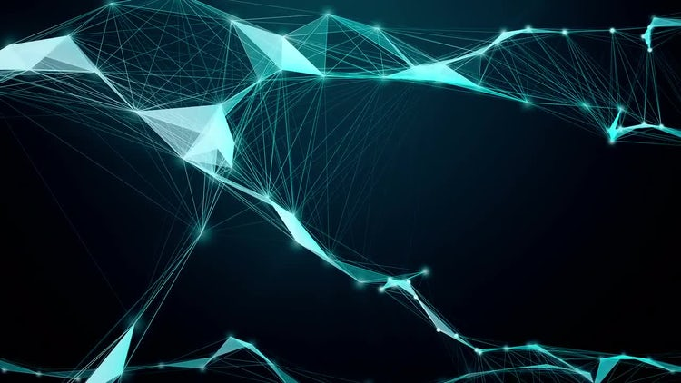 Abstract Plexus Background: Motion Graphics