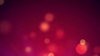 Rising Orange  Particles: Motion Graphics