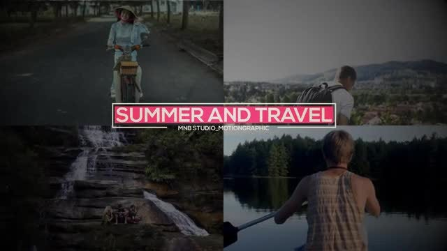 Summer And Travel Slideshow: After Effects Templates