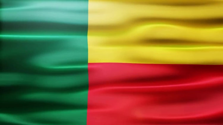 Benin Flag: Stock Motion Graphics