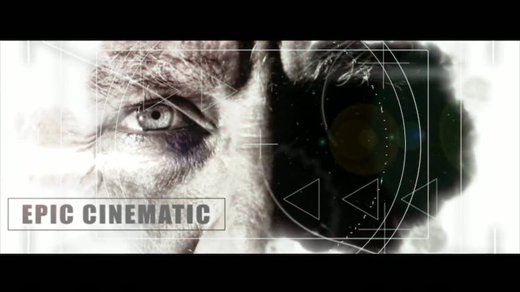 Epic Inspiring Cinematic Slideshow: After Effects Templates