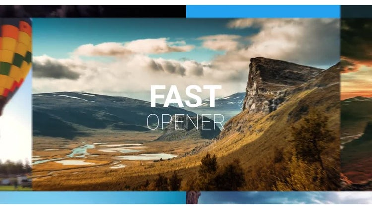 Summer Opener Wall: After Effects Templates