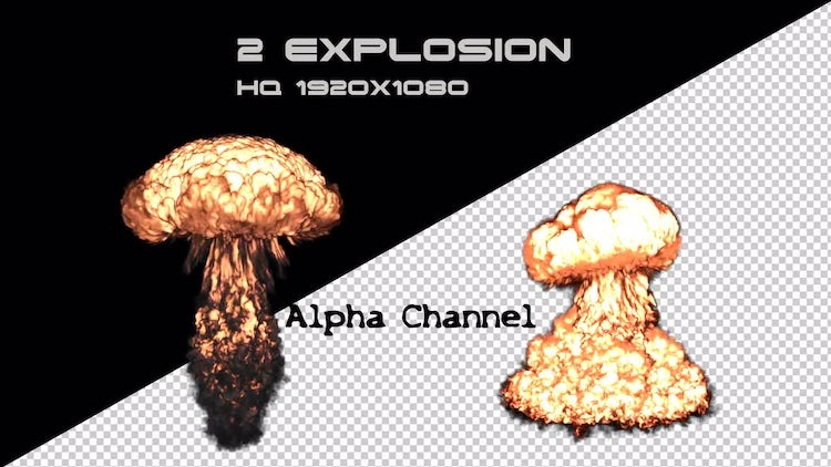 2 Explosion: Stock Motion Graphics