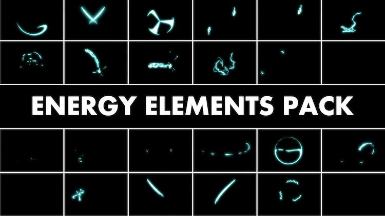 Energy Elements Pack: Motion Graphics