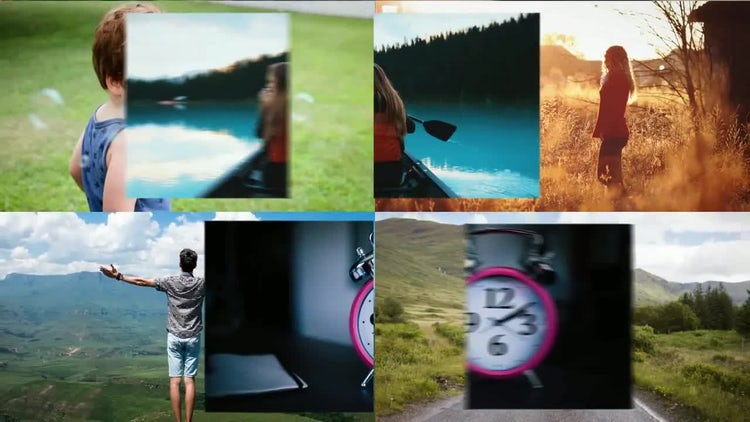 Multi Photo Logo: After Effects Templates