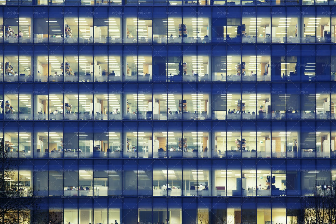 View Of An Office Building: Stock Photos