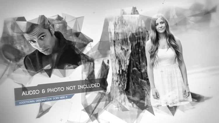 Glitch Plexus Display: After Effects Templates
