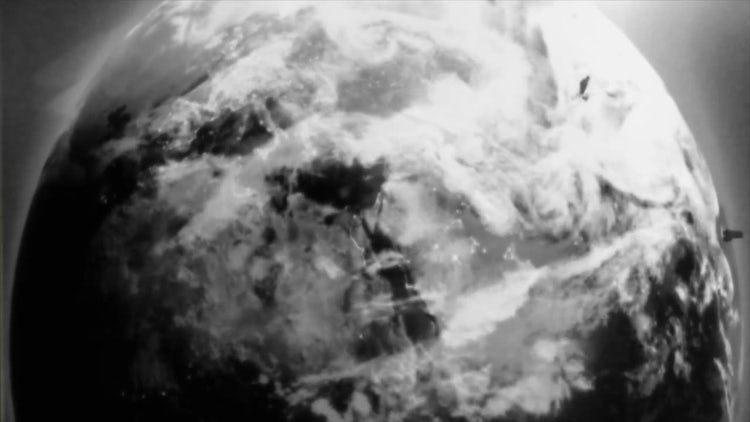 Old Film Earth: Stock Motion Graphics