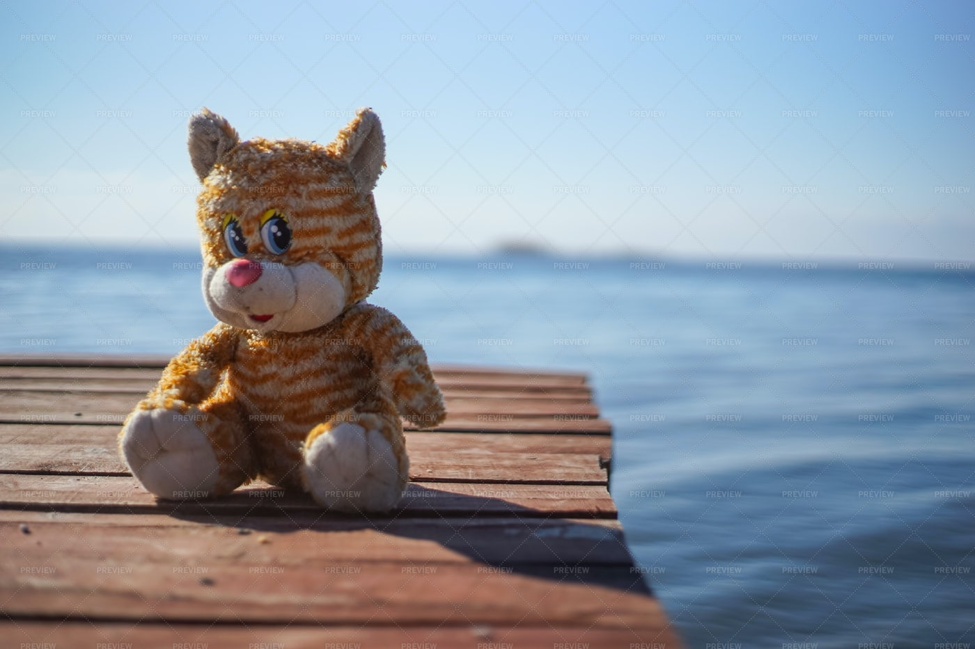 Toy By The Pier: Stock Photos