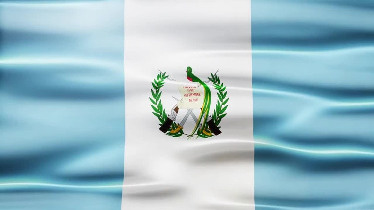 Guatemala Flag: Stock Motion Graphics