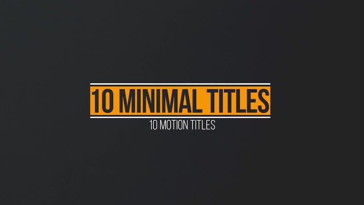 Clean titles premiere pro templates motion array for Title templates premiere pro