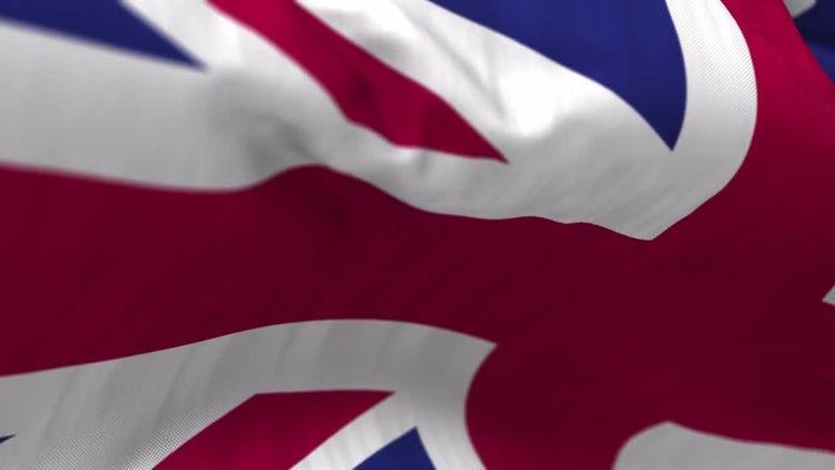 United Kingdom Flag: Stock Motion Graphics