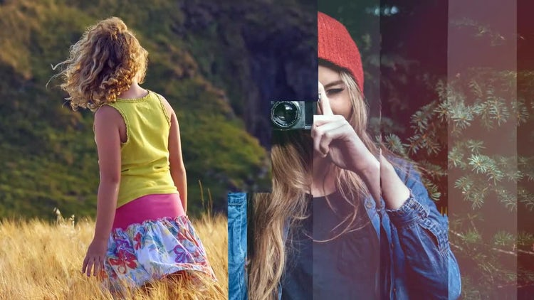Positive Slideshow: Premiere Pro Templates
