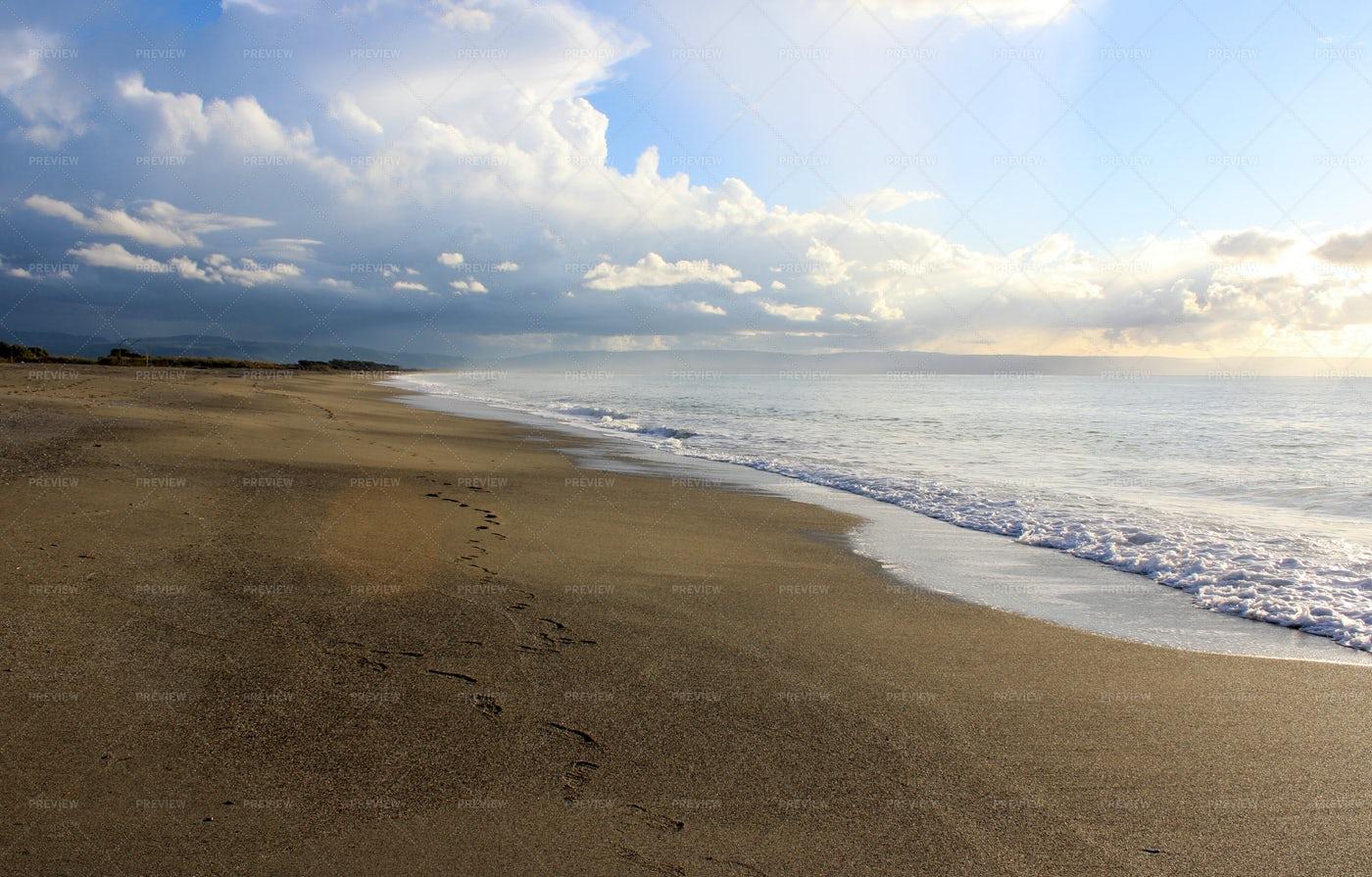 Calm Dreamy Beach: Stock Photos