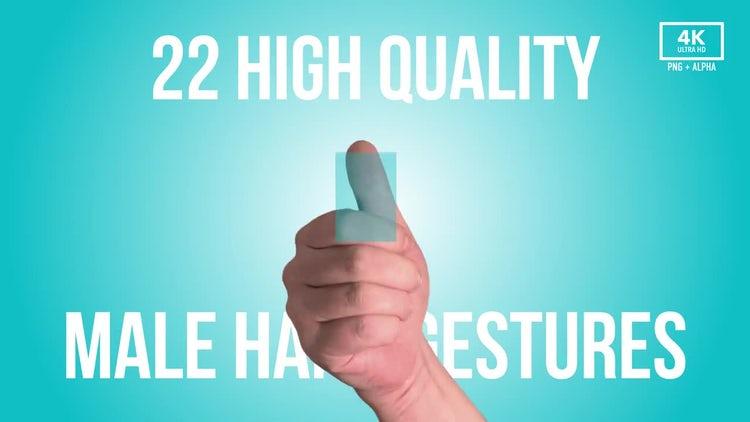 Hand Gestures and Fingerprints 4K: Stock Video