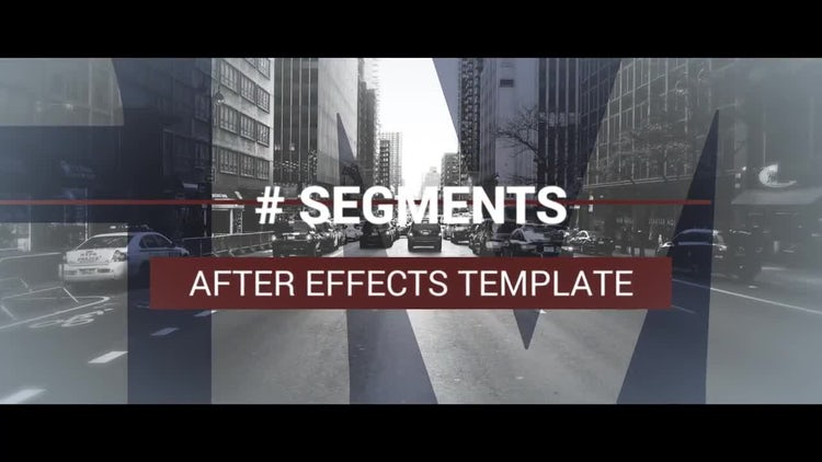 Segments: After Effects Templates