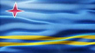 Aruba Flag: Motion Graphics