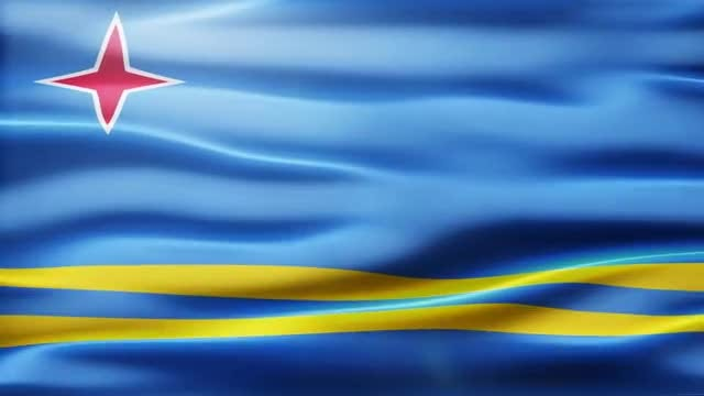 Aruba Flag: Stock Motion Graphics