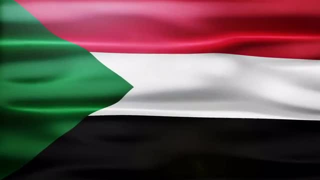 Sudan Flag: Stock Motion Graphics