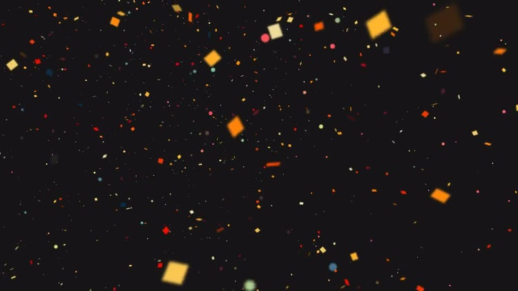 Confetti Background: Motion Graphics