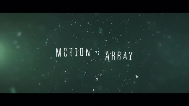 Cinematic Shatter Trailer: After Effects Templates