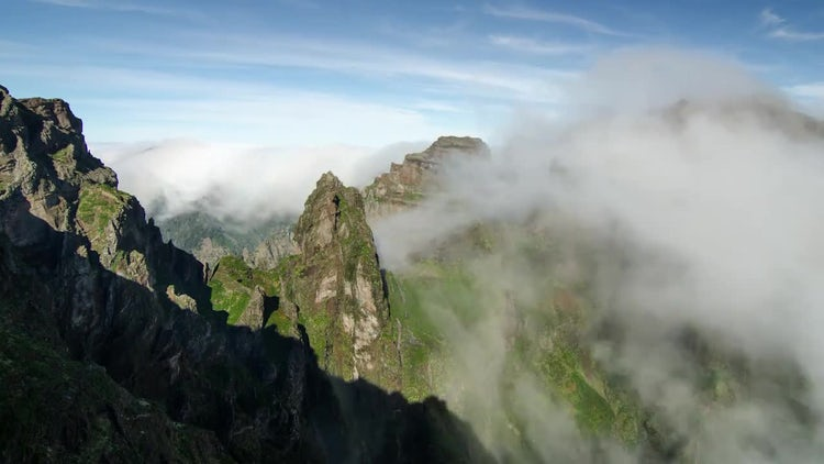 Mountain Timelapse: Stock Video