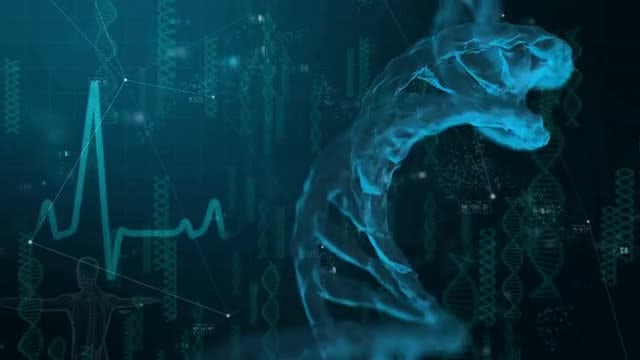 DNA Medical Background: Stock Motion Graphics